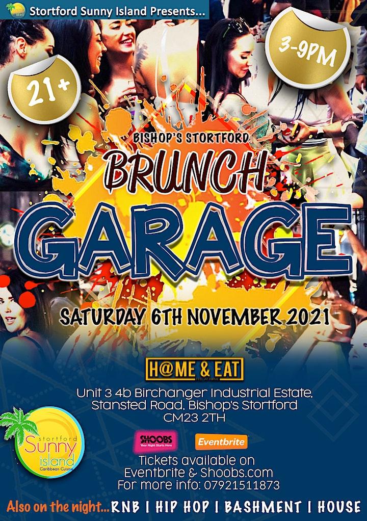 Brunch Garage & Day party (Bishop Stortford) image