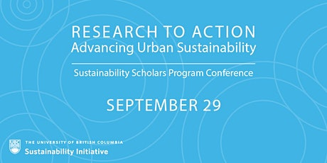 Research to Action: Advancing Urban Sustainability 2021 tickets