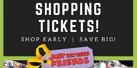 WAUKESHA JBF PRIME TIME SHOPPING PASS  - Tues, Oct 19th (4-8pm) tickets