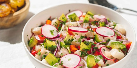 Snapper Avocado Ceviche: FREE Virtual Cooking Class tickets