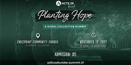 Planting Hope: Reaching Small Towns Through Planting New Churches tickets