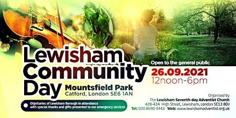 Lewisham's Community Day tickets
