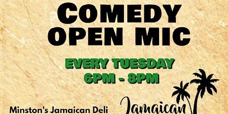 One Love Comedy Open Mic at Minston's Jamaican Deli tickets