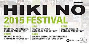 2015 HIKI NŌ Festival - Kona