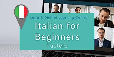 Italian for Beginners Taster Sessions