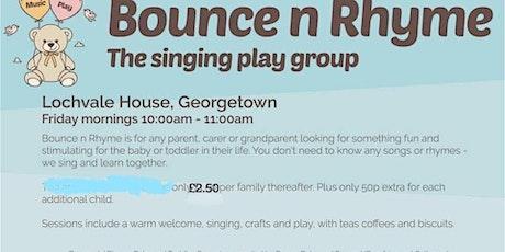 Bounce n rhyme tickets