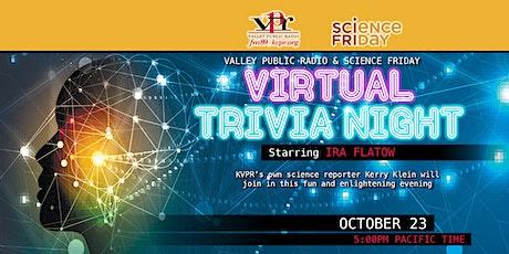 Science Friday Virtual Trivia Night tickets
