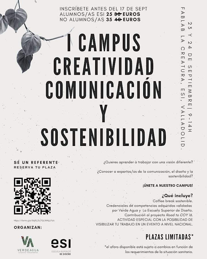 Imagen de I Campus Creatividad, Comunicación y Sostenibilidad