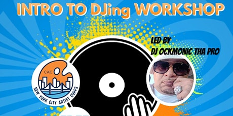Kids Move the Crowd Free Intro to DJing Workshop tickets