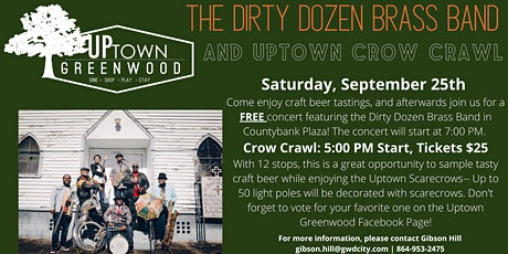 Uptown Crow Crawl tickets