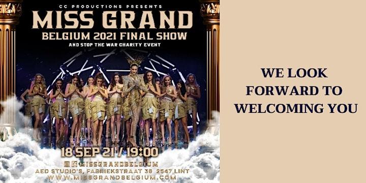 Miss Grand Belgium 2021 Final Show image