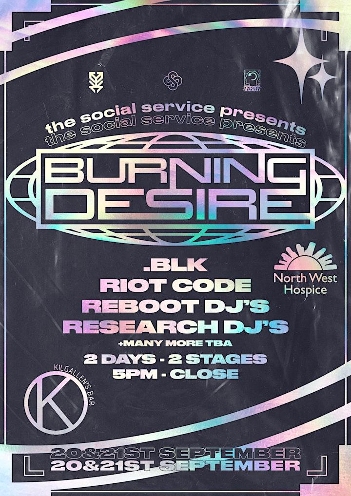 The Social Service Presents : Burning Desire Mini Festival image