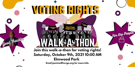 Walk-A-Thon For Voting Rights tickets
