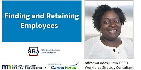 Finding and Retaining Employees tickets