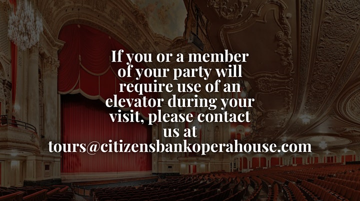 Citizens Bank Opera House Open House image