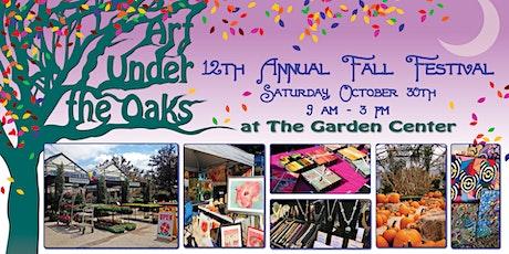 Art Under the Oaks Fall Festival tickets