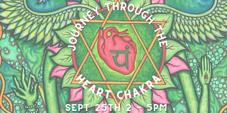Journey Through The Heart Chakra Workshop tickets