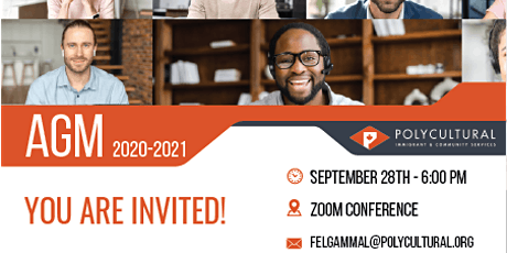 Annual General Meeting 2020-2021 tickets