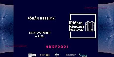 Kildare Readers Festival: Rónán Hession tickets