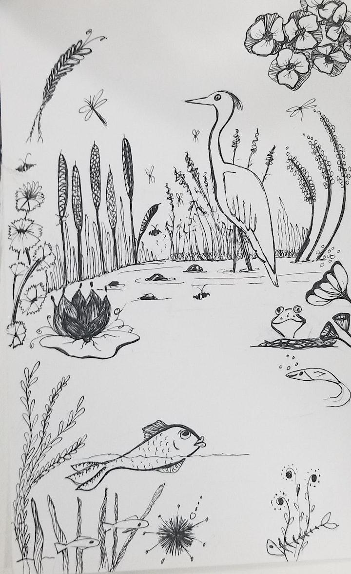 Artful Doodles Drawing Class (UK Time) image