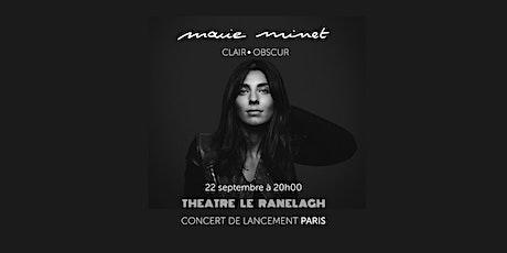 I World & french music I Marie Minet I  Concert lancement I Clair-Obscur I billets