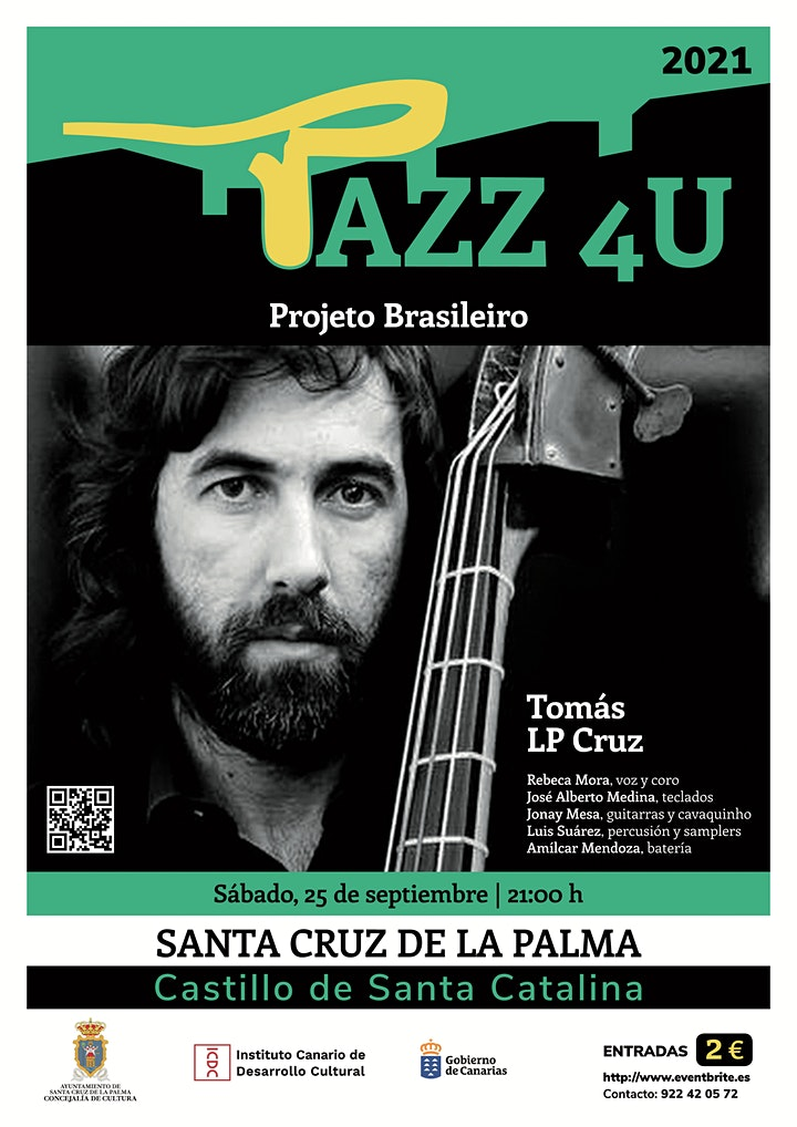 Imagen de Jazz 4U - Projeto Brasileiro Tomás LP Cruz