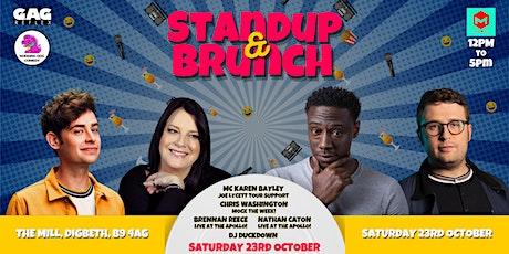Standup & Brunch Birmingham! tickets