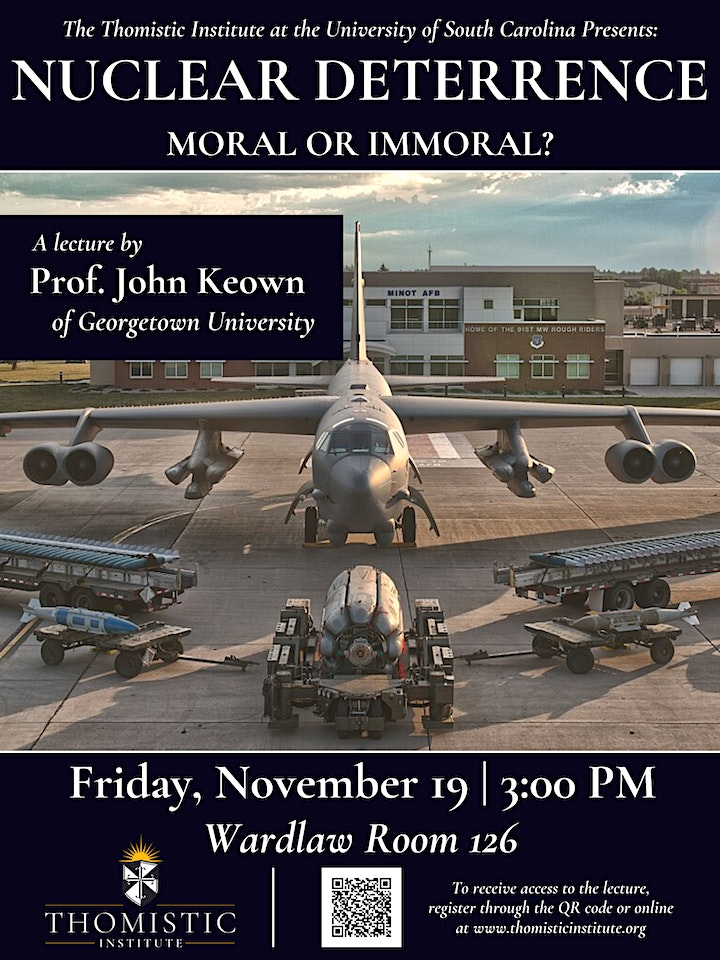 Nuclear Deterrence: Moral or Immoral? image