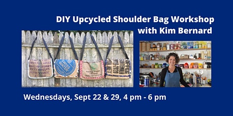 DIY Upcycled Shoulder Bag Workshop with Kim Bernard tickets