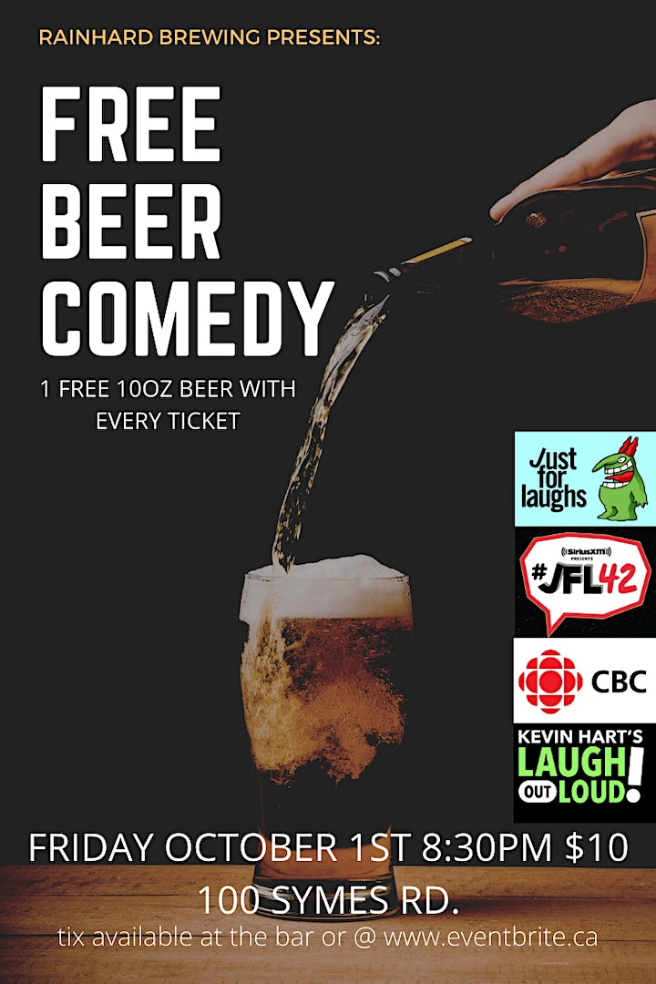 FREE BEER COMEDY image