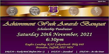 Achievement Week Banquet tickets