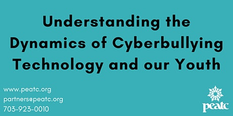 Understanding the Dynamics of Cyberbullying Technology and our Youth bilhetes