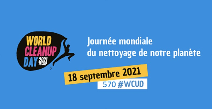 """Image pour World CleanUp Day 2021 : opération """"zéro déchet"""""""