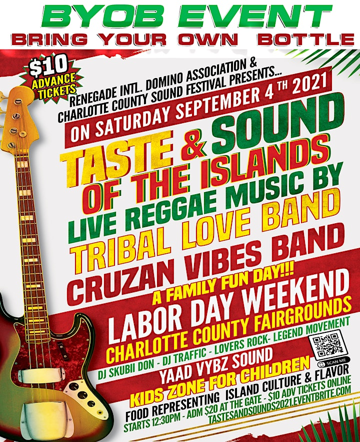 TASTES & SOUNDS of the ISLANDS 2021 image