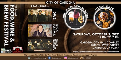 11th Annual Food, Wine and Brew Festival tickets