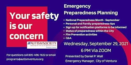 Emergency Preparedness Planning tickets