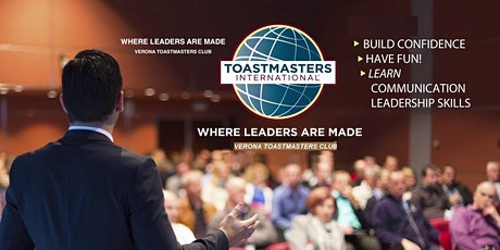 Public Speaking with Verona Toastmasters Club tickets