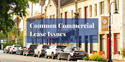 Strategies for Commercial Lease Issues, Queens, 11/3/2021