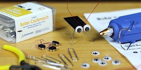 Make a Solar Cockroach  -  Faire un cafard solaire tickets