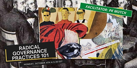 Introduction to Radical Governance -Boards and Bylaws tickets