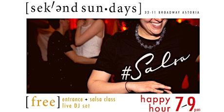 FREE Salsa Night at Sekend Sun tickets