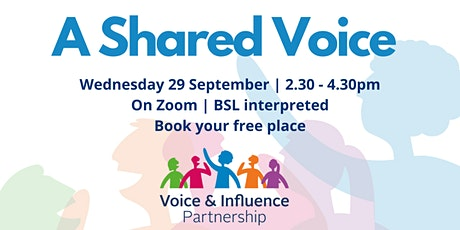 A Shared Voice – voice and influence in Bristol tickets
