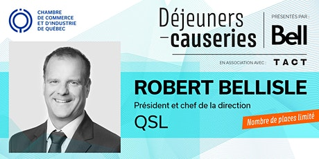 Déjeuner-causerie | Robert Bellisle, QSL billets