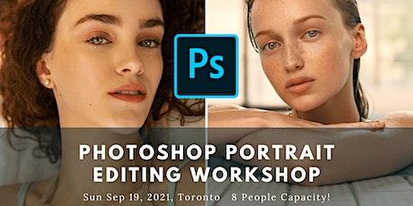 Photoshop Portrait Editing Workshop 01 tickets