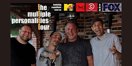 Multiple Personality Comedy Tour - Nov 6 - $30 Dinner and Show tickets