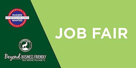 Elk Grove Village Job Fair (Employer Exhibitor Registration) - Nov 2021 tickets