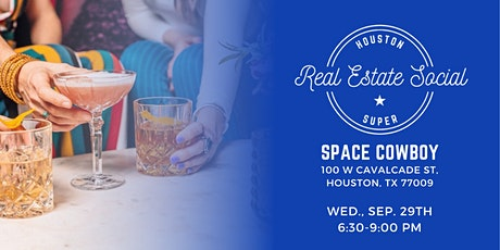 Houston Real Estate Social 9/29/21 tickets