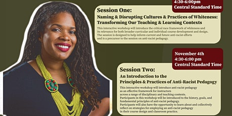 Antiracist Pedagogy Workshop for  DePaul Faculty with Dr.Whitney Peoples tickets