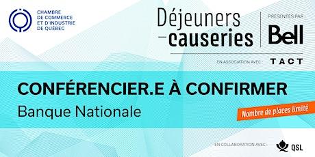 Déjeuner-causerie   Banque Nationale billets