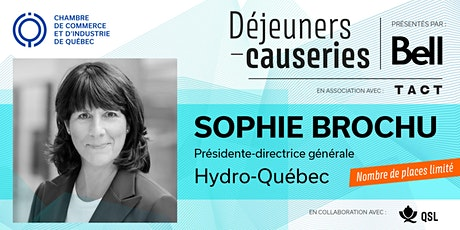 Déjeuner-causerie | Sophie Brochu, Hydro-Québec billets